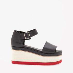 COS Color block Platform Sandals